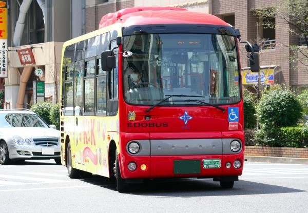 バスロケ「バス予報」対応バス コミュニティバス