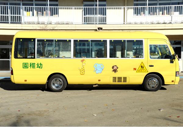 バスロケ「バス予報」対応バス 送迎バス